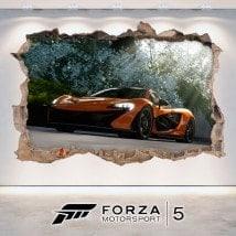 Vinile decorativo 3D Forza Motorsport 5