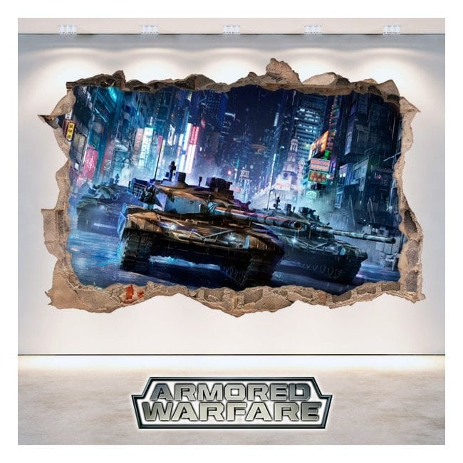 Adesivi e vinile Armored Warfare