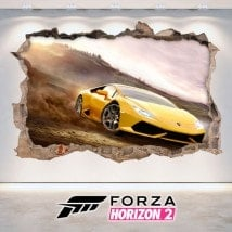 Vinile decorativo 3D Forza 2 Horizon