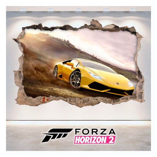 Vinile decorativo 3D Forza 2 Horizon