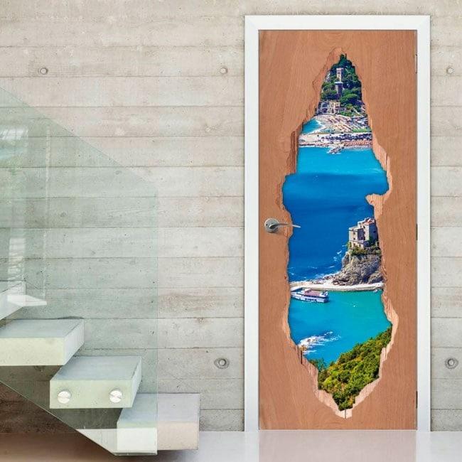 Porta vinile 3D Liguria Italia