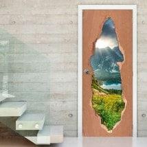 Natura di porte in Slovacchia 3D per vinili