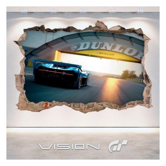 Turismo di vinile grande visione 3D Bugatti