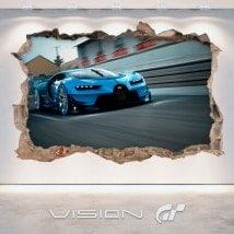 Gran Turismo di vinile Bugatti 3D Vision