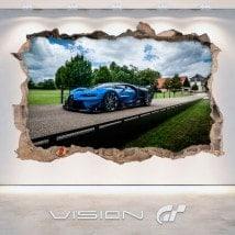 Luminescent pannelli divisori Gran Turismo di fluowall Bugatti 3D Vision