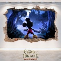 In vinile 3D Castle Of Illusion bambini