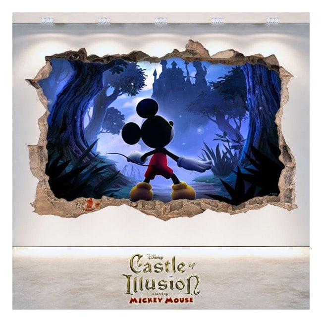 In vinile 3D Castle Of Illusion bambini