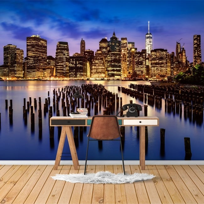 Gigantografie di foto di New York City