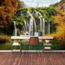 Montagne di foto parete murales cascate
