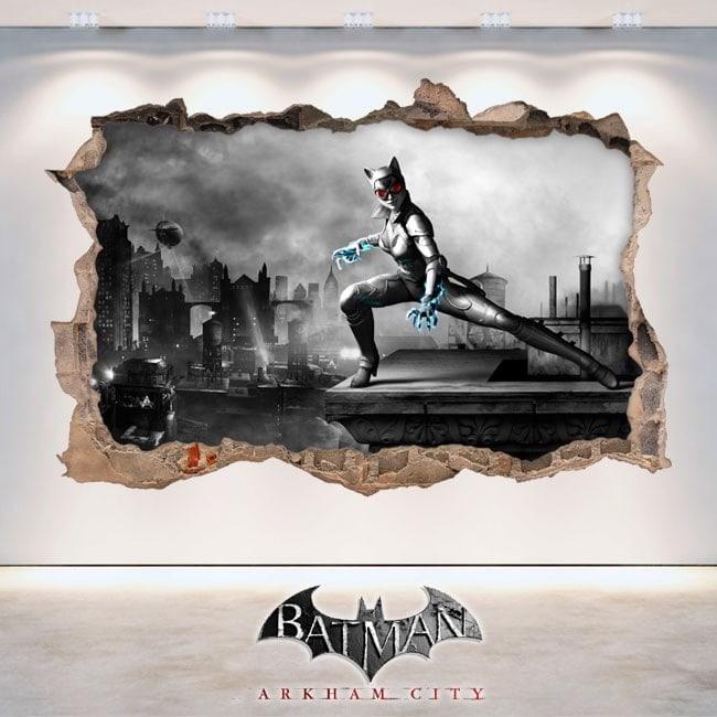 Vinile e adesivi 3D Batman Arkham City