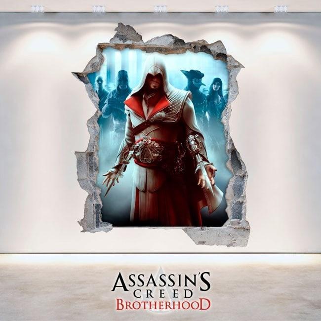 Adesivi e Vynils 3D Assassin creed: fratellanza