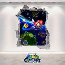 Vinile video gioco 3D Super Mario Galaxy