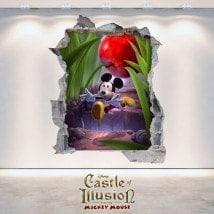 Adesivi per bambini e vynils Castle Of Illusion 3D