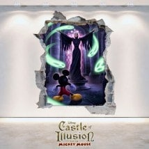 Castle Of Illusion 3D vinile decorativo bambini