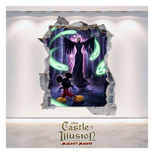 Castle Of Illusion 3D vinile decorativo bambini