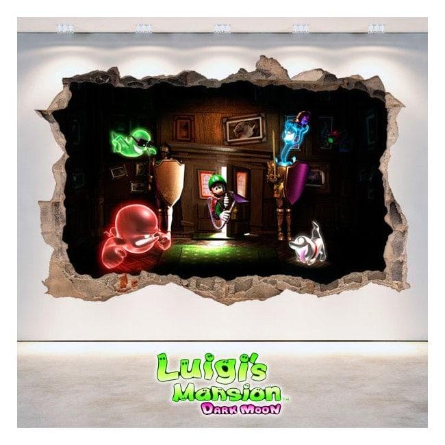 Adesivi e vynils di Luigi Mansion Dark Moon