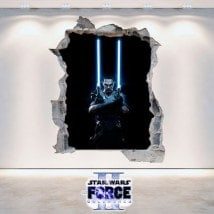 Vinile decorativo Star Wars The Force Unleashed 2