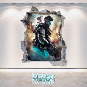 Ghost Recon Future Soldier vinile decorativo 3D Tom Clancy