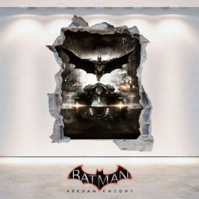 Vinile decorativo 3D Batman Arkham Knight