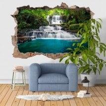 Natura di vinile decorativo 3D cascate