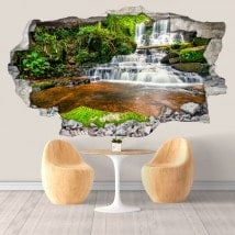 Cascate di vinile decorativi in Thailandia 3D