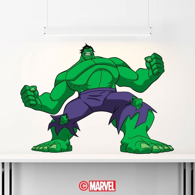 Luminescenti pannelli divisori fluowall Hulk