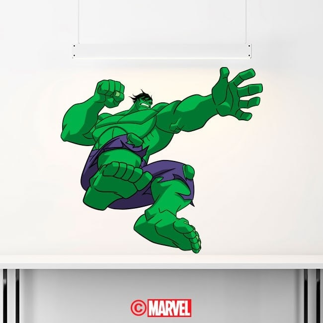 Adesivi e vynils Hulk