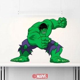 Vinile adesivo Hulk