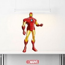 Vinile decorativo Iron Man