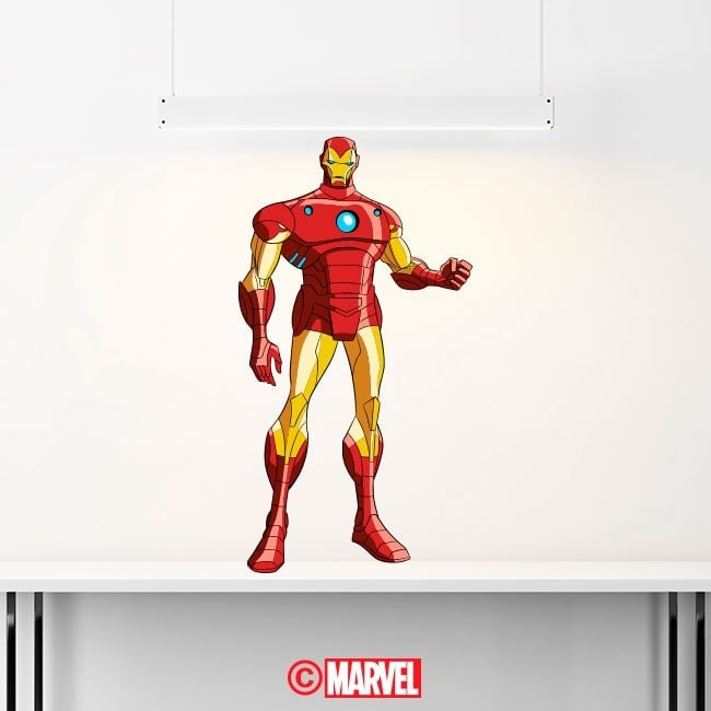 Vinile decorativo Iron Man