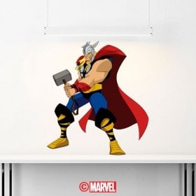 Adesivi e vinile Marvel Thor