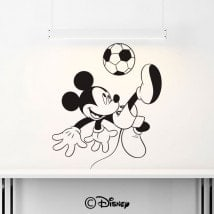 Calcio di Mickey Mouse del vinile