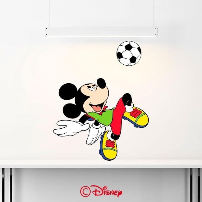 Adesivi e vinile Mickey Mouse Italian 6351