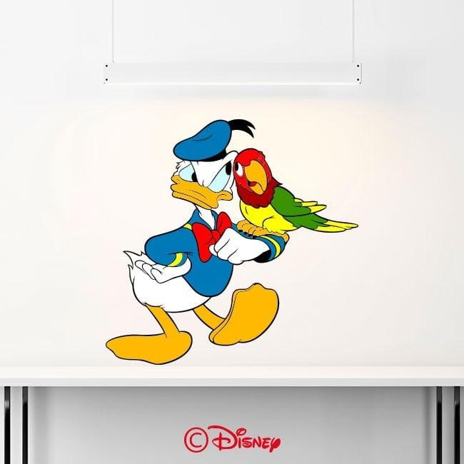 Adesivi e vinile Donald Duck Italian 6368
