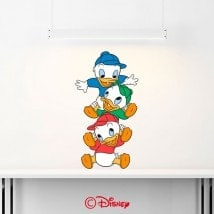 Vinile decorativo di nipoti Donald Duck