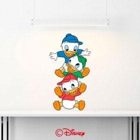 Vinile decorativo di nipoti Donald Duck