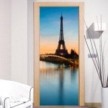 Porta vinile decorativo Torre Eiffel di Parigi
