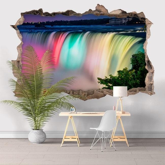 Colori di vinile 3D Cascate del Niagara
