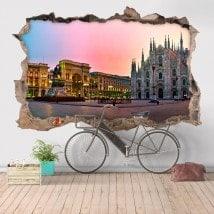 Vinile 3D Cattedrale Duomo Milano Italia