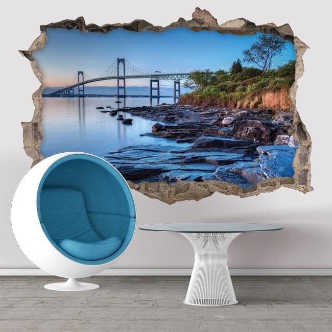 Vinile 3D Newport Bridge