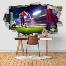 Calcio di vinile 3D