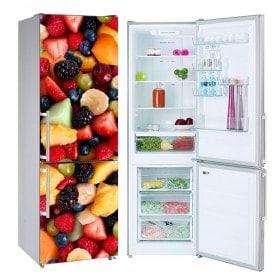 Adesivi frigoriferi Frutta collage
