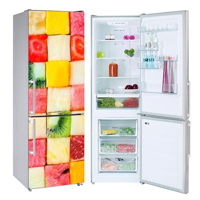Vinili per la frutta a dadini frigoriferi