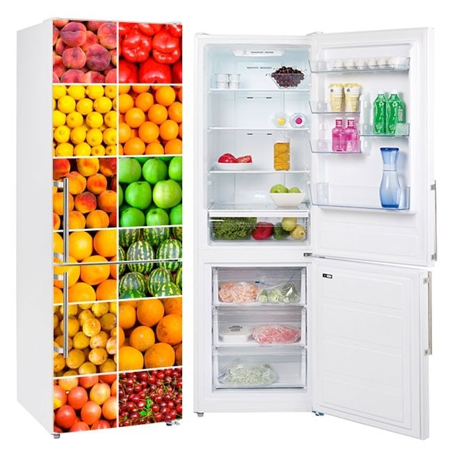 Decalcomanie collage frigoriferi frutta e verdura