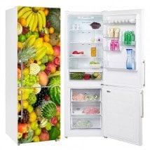 Vinyls per frigoriferi e refrigeratori frutti collage