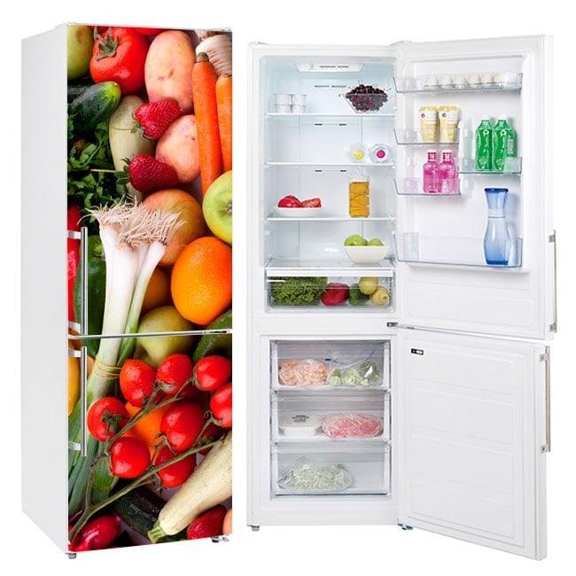 Vinili per frigoriferi frutta e verdura