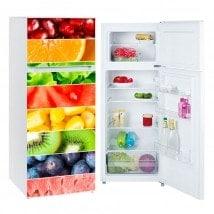 Vinili per frigoriferi frange frutti