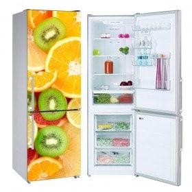 Vinyls per frigoriferi e frutta refrigerati collage