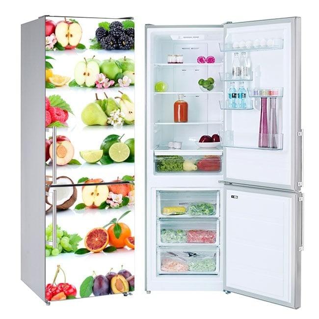 Adesivi di frutta per frigoriferi