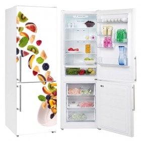 Adesivi frutta e vinile per frigoriferi